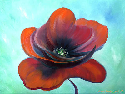 Painting - Lady Poppy by Gina De Gorna