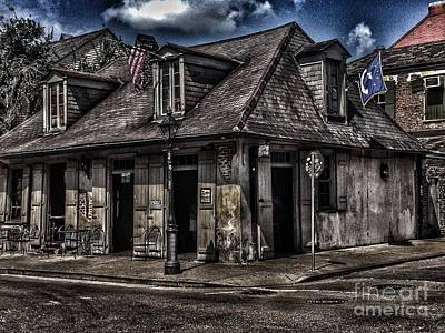 Creole Cottage Wall Art - Photograph - Lafitte's Blacksmith Shop by Mr-Eleganza