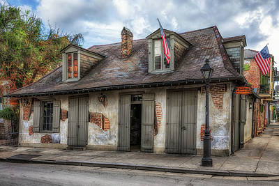 Photograph - Lafittes Blacksmith Shop  by Susan Rissi Tregoning
