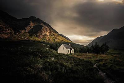 Wall Art - Photograph - Lagangabrh Hut, Glencoe by Kristy Ashton