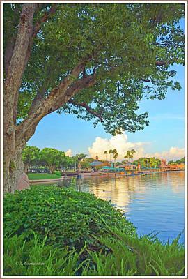 Photograph - Lagoon, Epcot, Walt Disney World by A Gurmankin