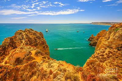 Photograph - Lagos Coast Algarve by Benny Marty