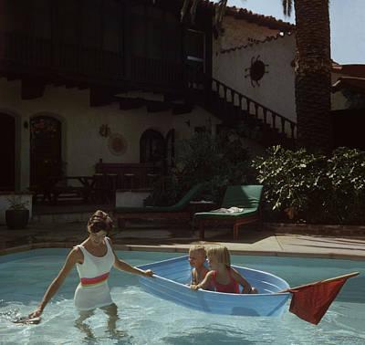 Photograph - Laguna Beach Home by Slim Aarons
