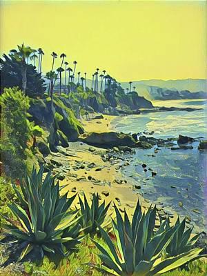 Wall Art - Photograph - Laguna Beach South by Mary McGrath