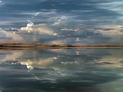 Photograph - Lake Abert 10 by Leland D Howard