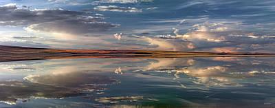 Photograph - Lake Abert 4 by Leland D Howard