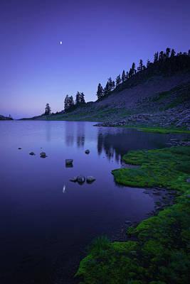 Photograph - Lake Ann, Twilight by TM Schultze