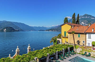 Photograph - Lake Como View From Varenna Hotel by Carolyn Derstine