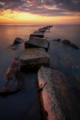 Lake Erie Wall Art - Photograph - Lake Erie Sunset  by Emmanuel Panagiotakis