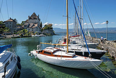 Photograph - Lake Geneva by Arterra Picture Library