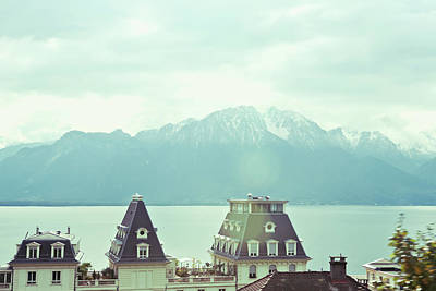 Cityscape Photograph - Lake Geneva, Lausanne, Switzerland by Chrispecoraro