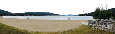 Photograph - Panoramic Photo Of Lake George In Nys Adirondack Mountains 1 by Rose Santuci-Sofranko