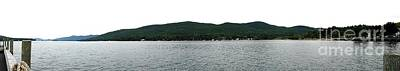 Photograph - Panoramic Photo Of Lake George In Nys Adirondack Mountains 2 by Rose Santuci-Sofranko