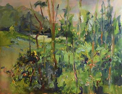 Wall Art - Painting - Lake Gibson by Kathryn McMahon