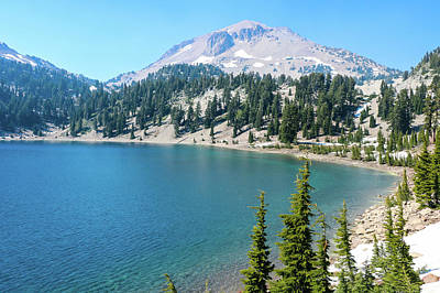 Photograph - Lake Helen, Lassen Volcanic National Park by Dawn Richards