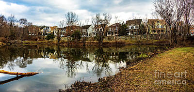 Photograph - Lake Helene And Booth Street by Thomas Marchessault