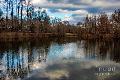 Photograph - Lake Helene Winter by Thomas Marchessault