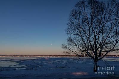 Photograph - Lake Huron Winter by Jim West