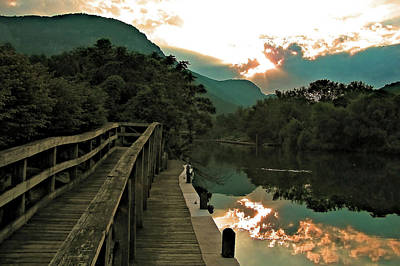 Fine Dining - Lake Lure by Jeff Heimlich