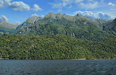 Photograph - Lake Manapouri by Anthony Dezenzio