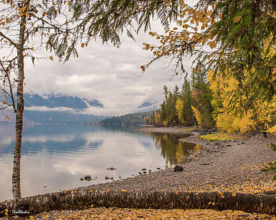 Photograph - Lake Mcdonald In Glacier Np by Tim Kathka