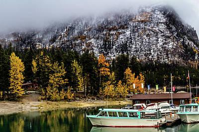 Photograph - Lake Minnewanka, Banff National Park, Alberta, Canada by David Butler