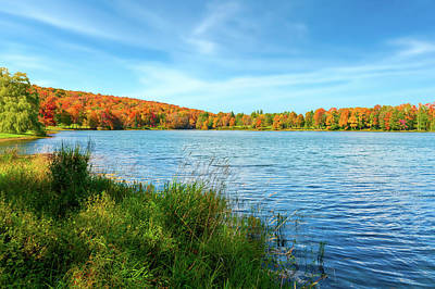 Photograph - Lake Montrose Pennsylvania - Lakemontrosepennsylvania104889 by Frank J Benz