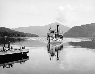 Photograph - Lake Placid, C1902 by Granger