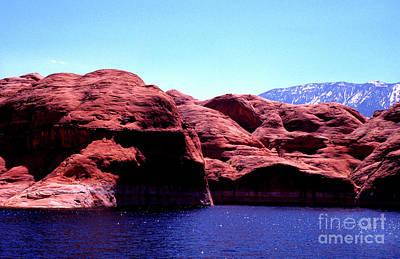 Photograph - Lake Powell And Navajo Mountain by Thomas R Fletcher