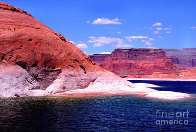 Photograph - Lake Powell Glen Canyon  by Thomas R Fletcher