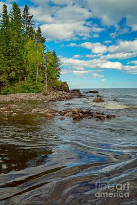 Photograph - Lake Superior Waves by Susan Rydberg