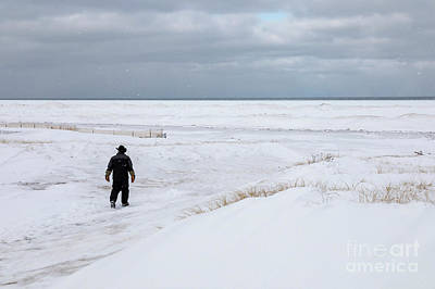 Photograph - Lake Superior Winter by Jim West