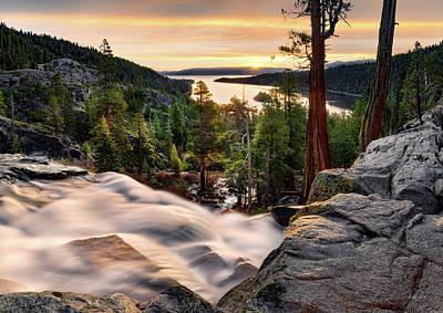 Photograph - Lake Tahoe Beauty by Leland D Howard