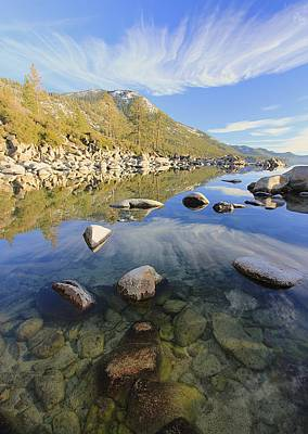 Photograph -  Lake Tahoe Love by Sean Sarsfield