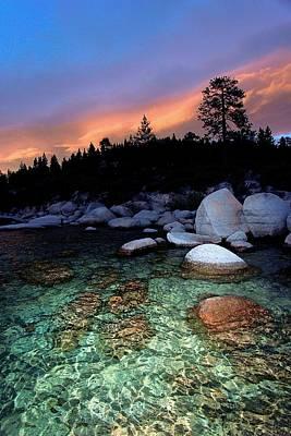 Photograph - Lake Tahoe Nightlife by Sean Sarsfield