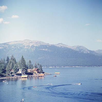 Photograph - Lake Tahoe by Slim Aarons