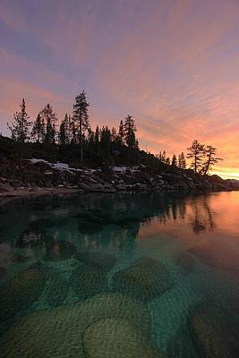 Photograph - Lake Tahoe Twilight Dreams by Sean Sarsfield