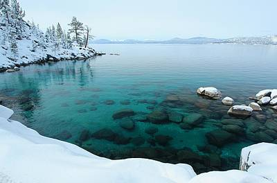 Photograph - Lake Tahoe Winter Wonderland by Sean Sarsfield