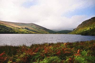 Photograph - Lake Tay. Wicklow Mountains by Jenny Rainbow