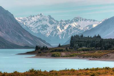 Canterbury Wall Art - Photograph - Lake Tekapo - New Zealand by Joana Kruse