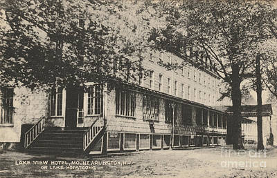 Photograph - Lake View Hotel On Lake Hopatcong by Mark Miller
