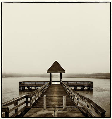 Photograph - Lake Zorinsky Pier by Edward Peterson