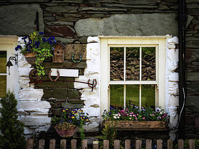 Photograph - Lakeland Cottage by Framing Places