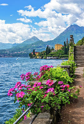 Photograph - Lakeside Gardens Near Varenna by Carolyn Derstine