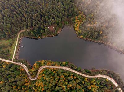 Photograph - Lakeside Road by Okan YILMAZ