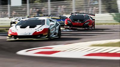 Photograph - Lamborghini Blancpain Super Trofeo - 14 by Andrea Mazzocchetti