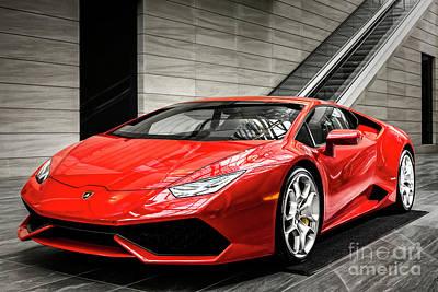 Photograph - Lamborghini Huracan by Brad Allen Fine Art