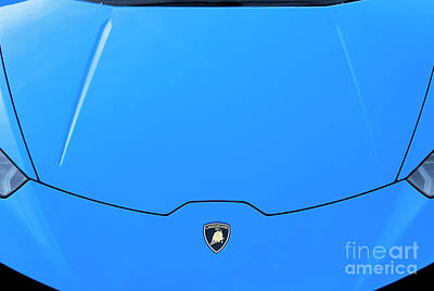 Photograph - Lamborghini Huracan In Blue by Tim Gainey