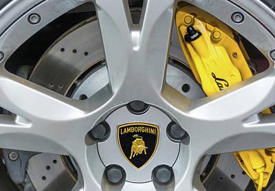 Photograph - Lamborghini  by Stewart Helberg