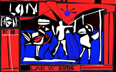 Photograph - Lan Vs Birds 3 by Artist Dot